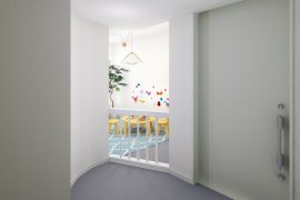 CGによる内装事例「キッズスペース」(スタジオ)