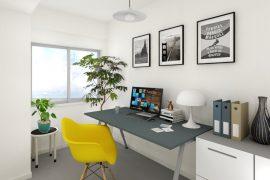 CGによる内装事例「在宅ワークスペース」(スタジオ)